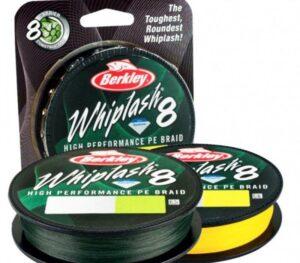 BERKLEY WHIPLASH 8 BRAID - 300 MTR SPOOLS