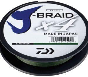 DAIWA J-BRAID X4 270M DARK GREEN