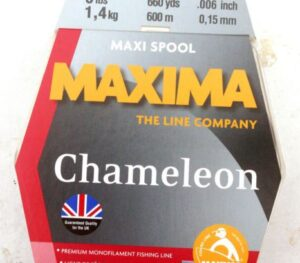 MAXIMA CHAMELEON LINE 600 MTR SPOOLS
