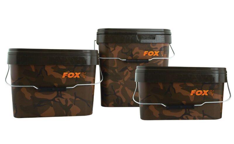 FOX CAMO SQUARE BUCKETS